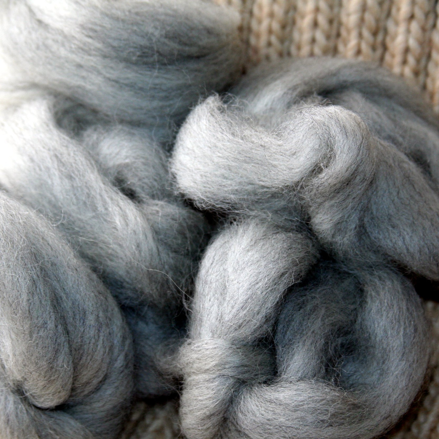 Natural colored roving