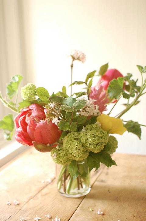 Make a Spring Flower Arrangement