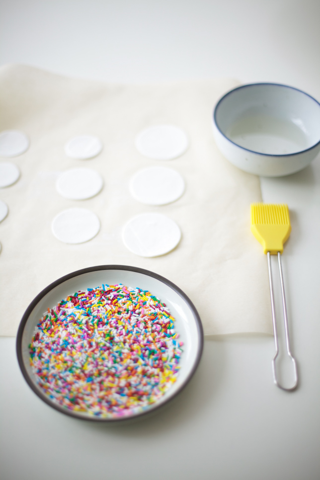 Decorating Gum Paste Circles