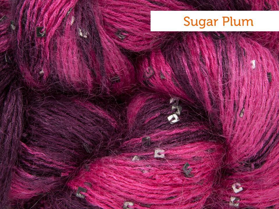Artyarns silk mohair sugar plum