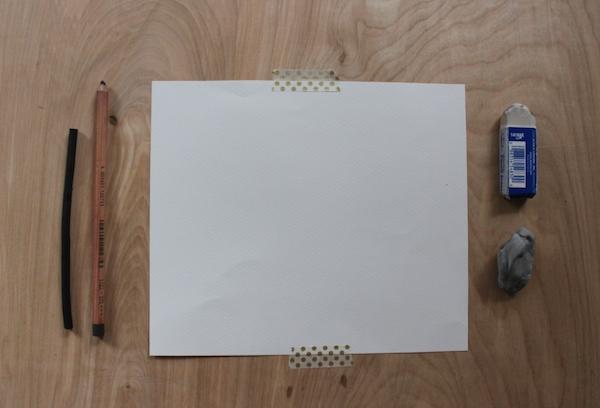 drawing shadow mass tutorial supplies