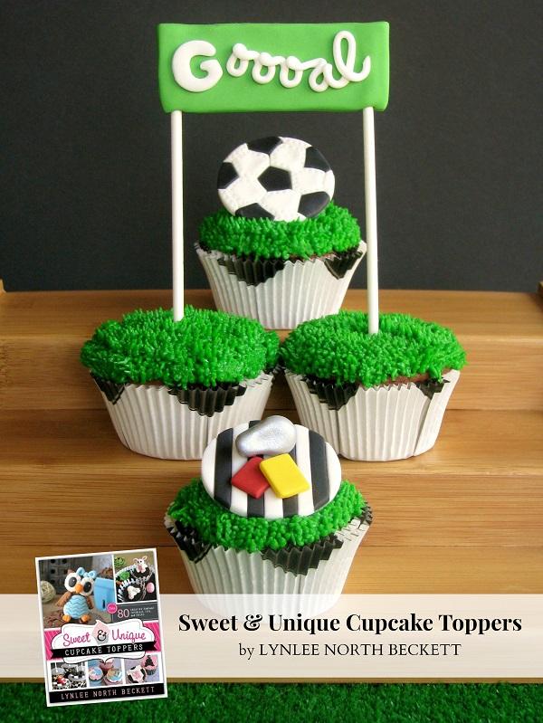 Just for Kicks cupcakes