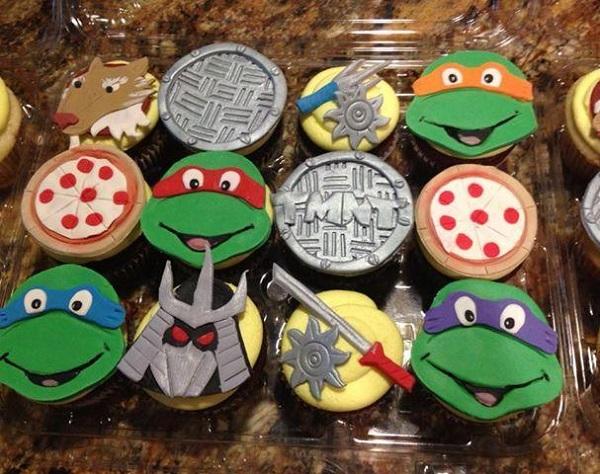 TMNT cupcakes