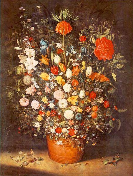 """""""Bouquet"""" 1603 by Jan Brueghel the Elder"""