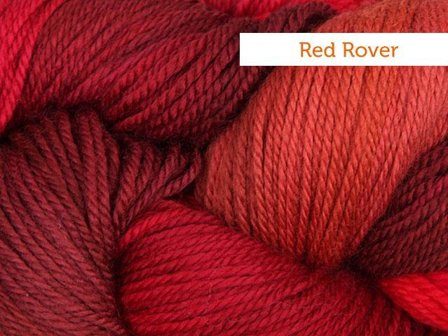 Lorna's Laces shepherd sport in red rover