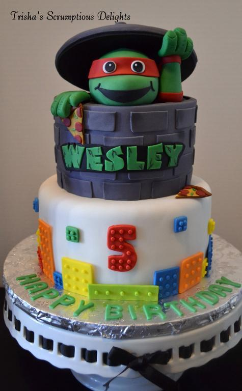 Turtle Time cake