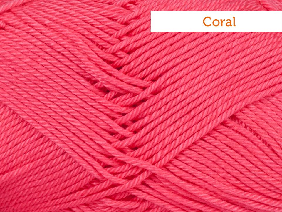 Schachenmayr Catania Yarn in coral