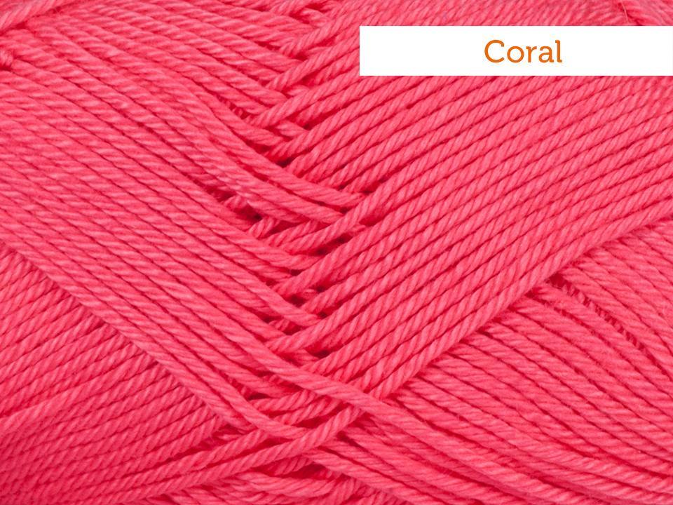Schachenmayr Catania Yarn in coral