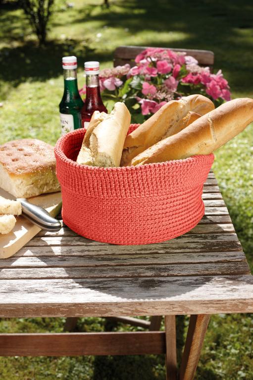Knit bread basket kit