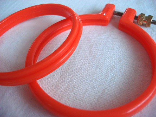 plastic hoop