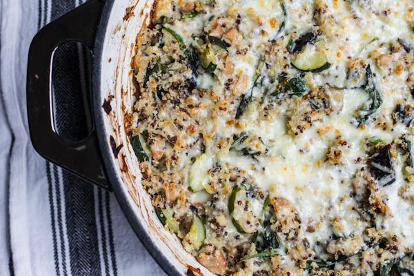 Vegetarian Quinoa Casserole