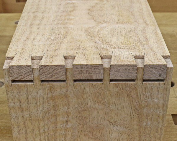 dovetails coming together