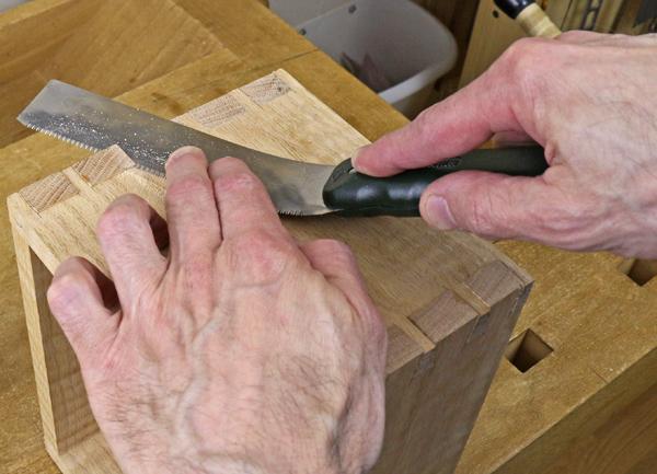 flush cut sawing