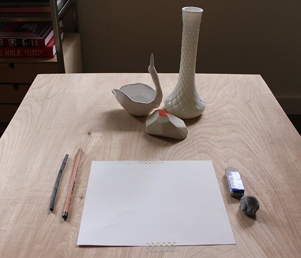 still life without drawing