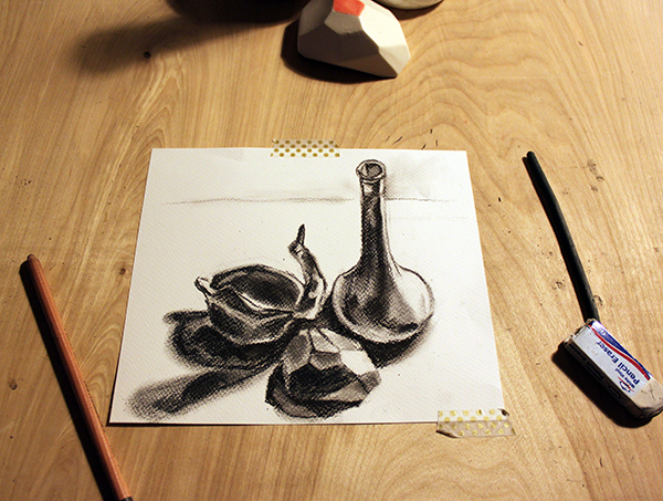 Finished still life
