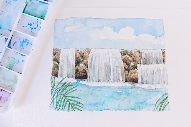Waterfall Image on Craftsy