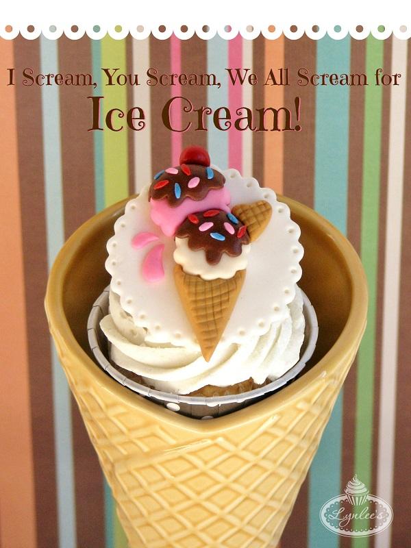 Ice Cream Fondant Tutorial