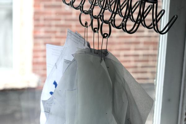 pdf sewing pattern storage hanging on hooks