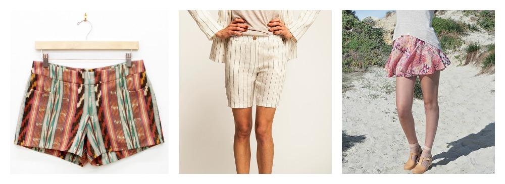 Summer shorts patterns