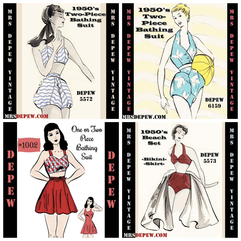 More Mrs. Depew Vintage Swimsuit Patterns