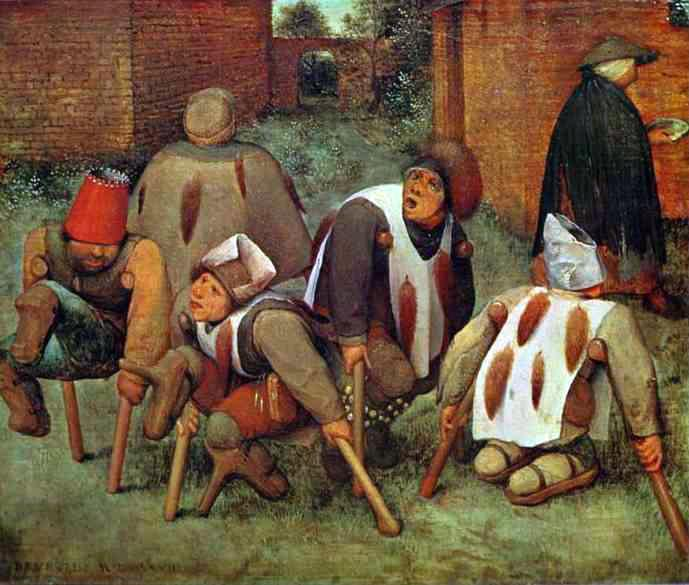 The Beggars by Pieter Bruegel