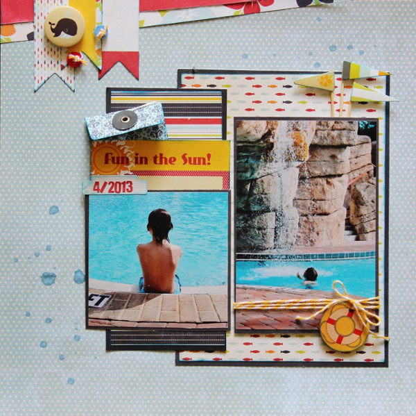 New and creative scrapbook inspirations