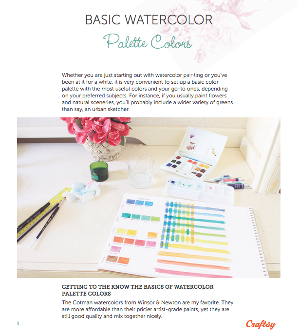 Basic Palette Colors - Free Beginner Watercolor Guide