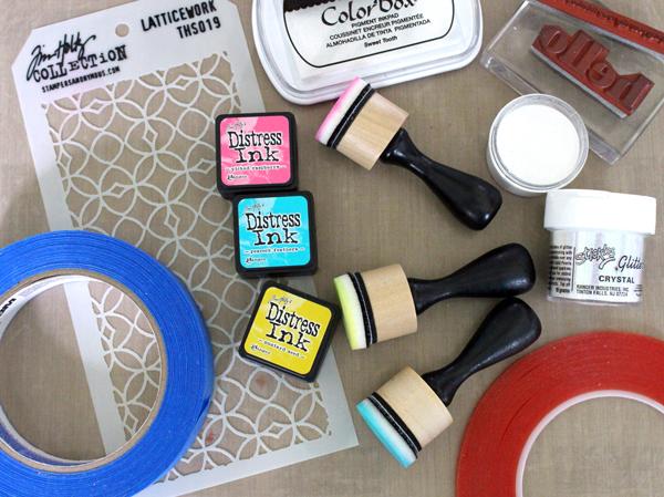 Supplies Needed for Blending Dye Inks