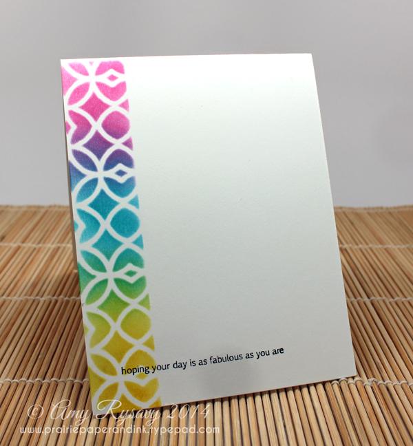 Finished Card Inside