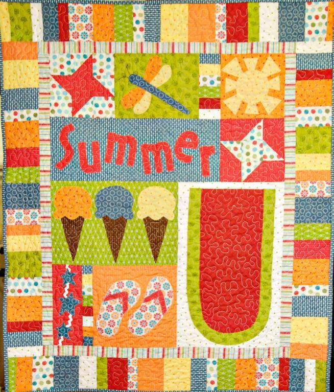 ultimate summer motif quilt