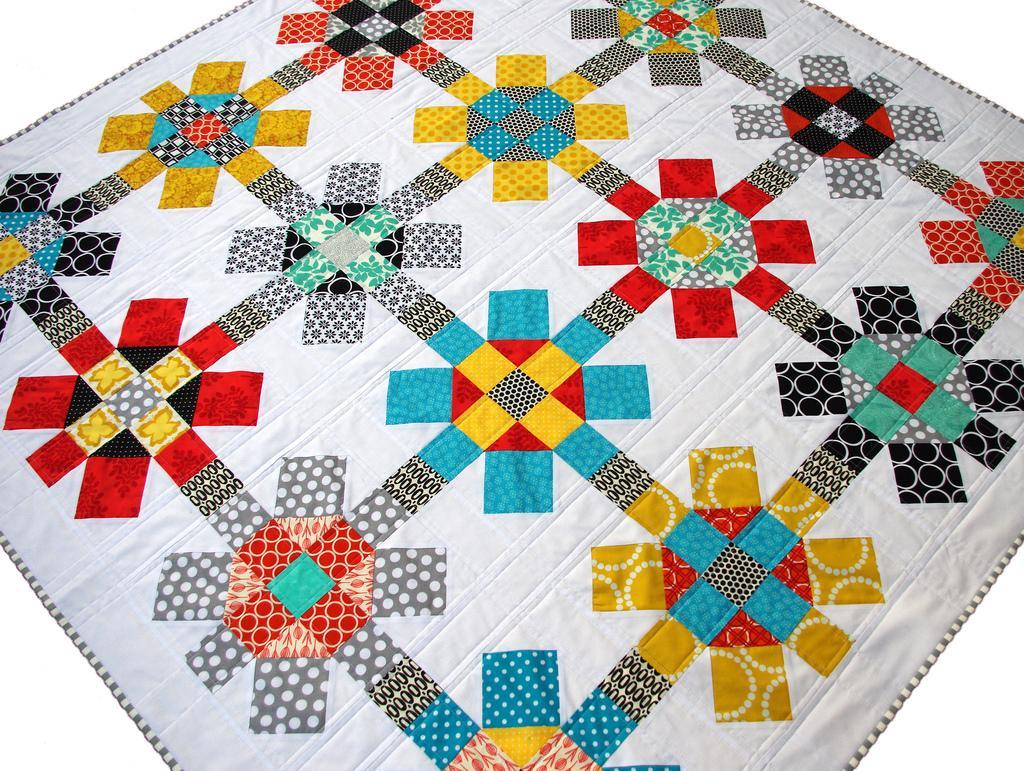 Bright and Bold Summer Quilt Design