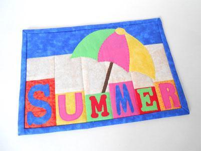 Summer Fun Mug Rug Design!