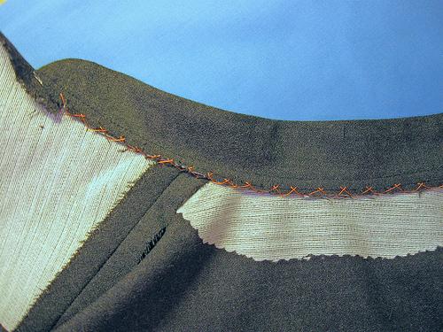 collar stitching