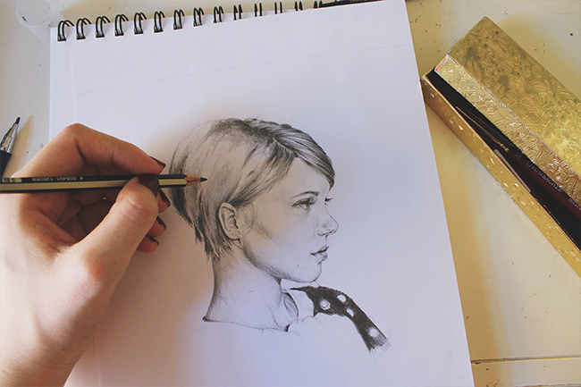 tips for sketching portraits