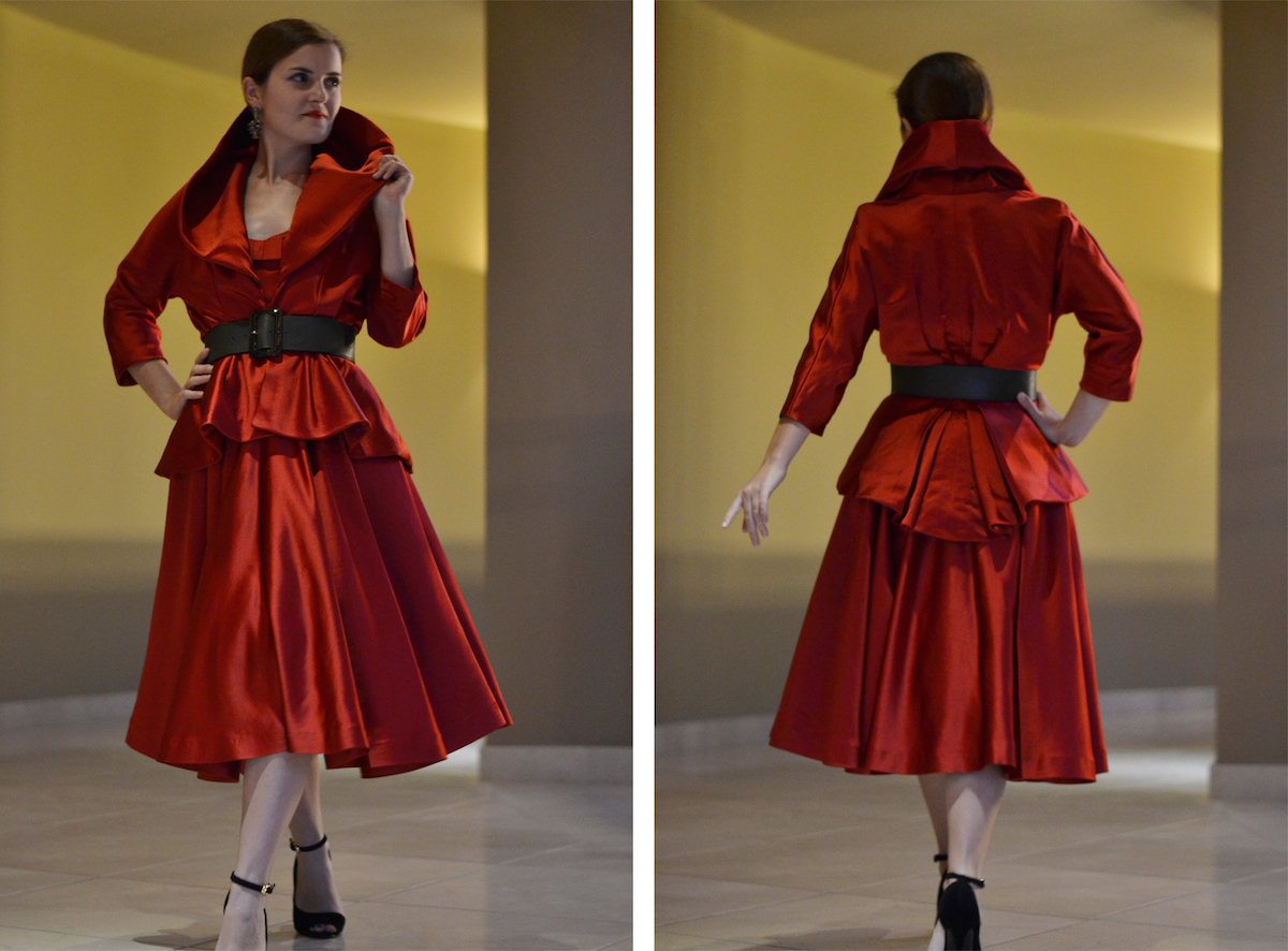 Red Couture Jacket
