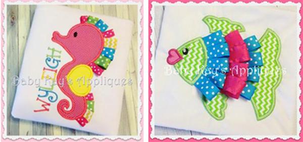 baby kays ribbon designs
