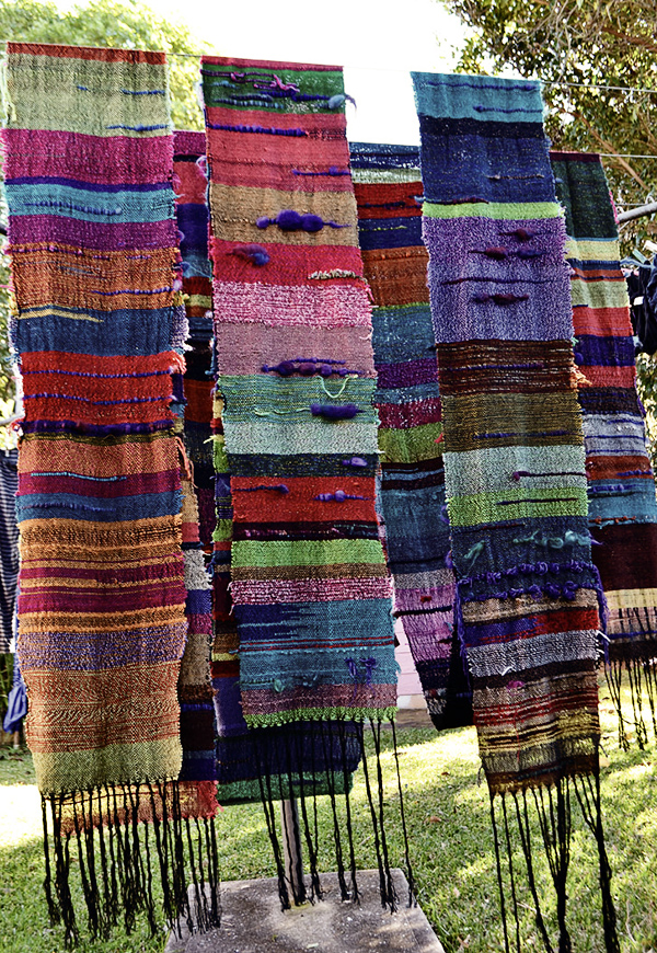 community woven banners