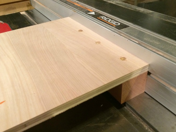 Assembling base of bevel-miter jig