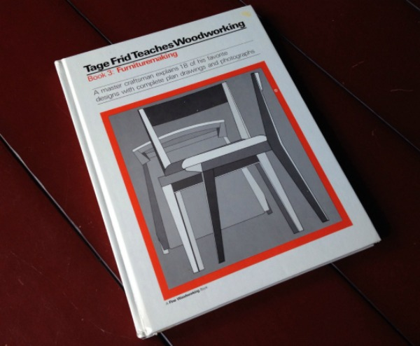 Woodworking book by Tage Frid