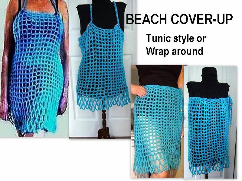 Free Pattern: Crochet Beach Cover Up