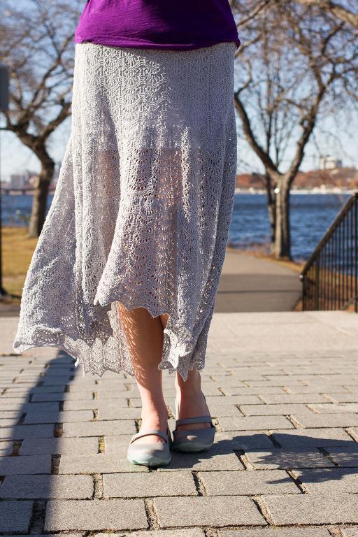 Knitted Tanana skirt