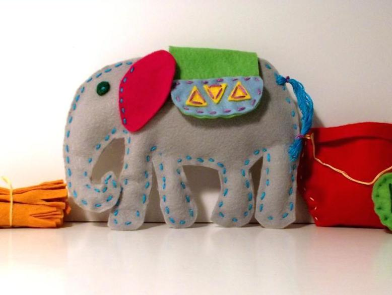 Kasi the Elephant Sewing Pattern