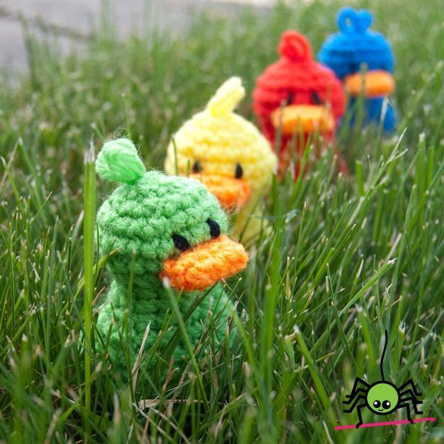 Free Lil' Duck Crochet Pattern - Bluprint.com