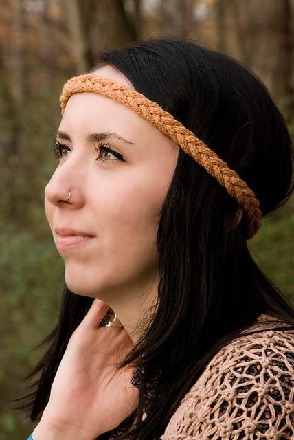 Knitted Alex headband