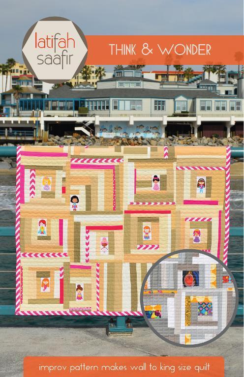 Think and Wonder Improv Quilt Pattern on Bluprint!