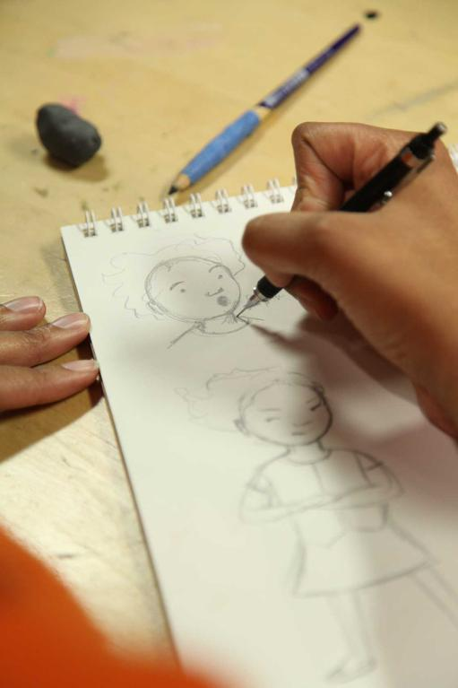 Creating character studies