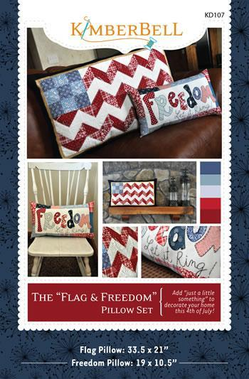 Flag and Freedom Fourth of July Quilt Patterns