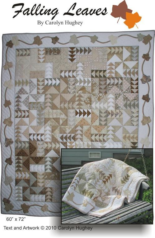 Neutral quilt with applique
