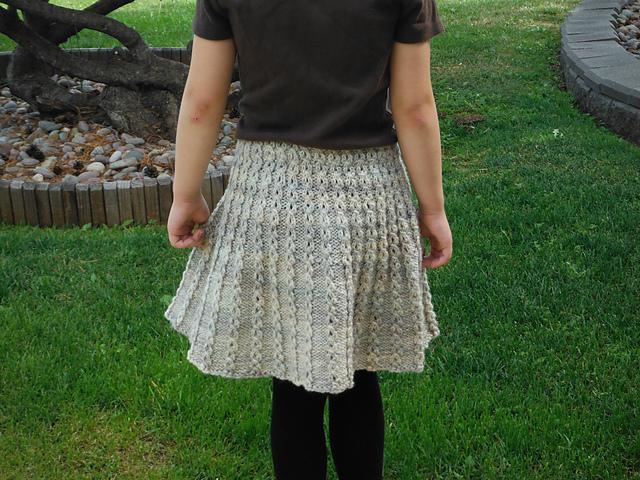 Knitted Marian skirt