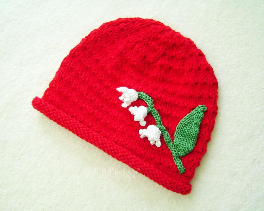 Joanie knitted lily hat